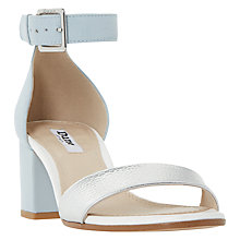 Buy Dune Jaygo Block Heeled Sandals, Multi Online at johnlewis.com