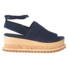 Buy Whistles Rada Flatform Sandals Online at johnlewis.com
