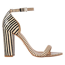 Buy Whistles Hyde Block Heeled Sandals, Nude Online at johnlewis.com