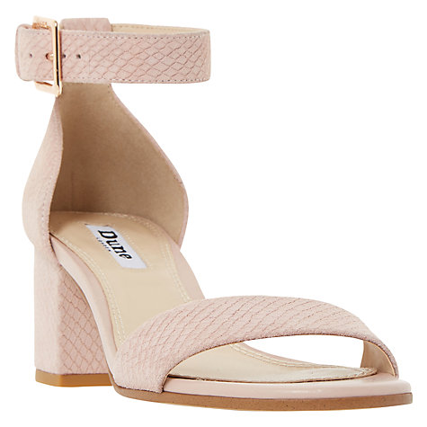 Buy Dune Jaygo Block Heeled Sandals Online at johnlewis.com