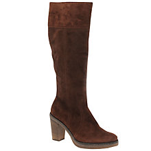 Buy Gabor Fiora Knee High Boots, Brown Online at johnlewis.com