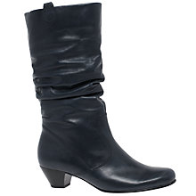 Buy Gabor Rachel Wide Slouch Knee High Boots Online at johnlewis.com