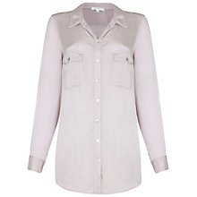 Buy Ghost Erika Blouse, Almond Online at johnlewis.com
