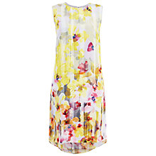 Buy Damsel in a dress Shadow Floral Silk Dress, Multi Online at johnlewis.com