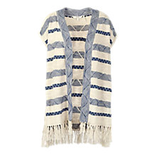 Buy Fat Face Durington Kimono, Ivory Online at johnlewis.com