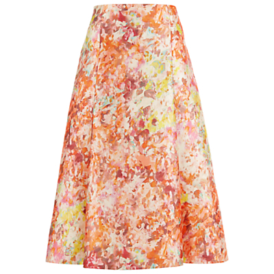 Damsel in a dress Abstract Full Skirt, Multi