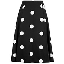 Buy Damsel in a dress Sabrina Skirt, Black/Ivory Online at johnlewis.com