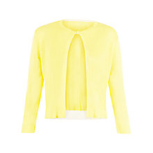 Buy Damsel in a dress Rosalba Cardigan, Lemon Online at johnlewis.com