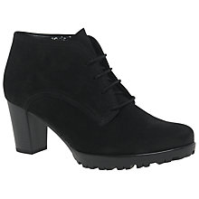 Buy Gabor Bosworth Wide Ankle Boots, Black Online at johnlewis.com