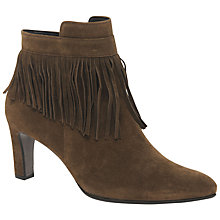 Buy Gabor Brand Tassel Ankle Boots, Ranch Online at johnlewis.com