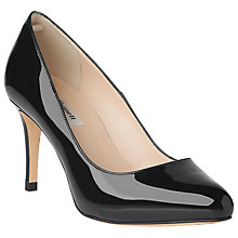 Buy L.K. Bennett Opal Stiletto Court Shoes, Black Online at johnlewis.com