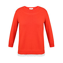 Buy Celuu Rosa Trim Jumper Online at johnlewis.com