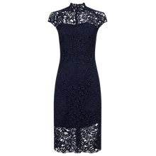 Buy Phase Eight True Lace Dress, Navy Online at johnlewis.com