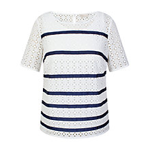 Buy Celuu Thea Broderie Top Online at johnlewis.com