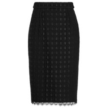 Buy Reiss Denise Lace Pencil Skirt Online at johnlewis.com