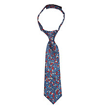 Buy John Lewis Boys' Floral Print Tie, Multi Online at johnlewis.com