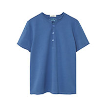 Buy Mango Kids Boys' Button T-Shirt Online at johnlewis.com