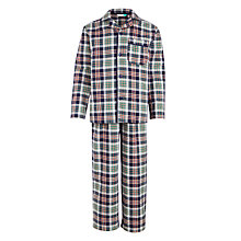 Buy John Lewis Boys' Tartan Woven Pyjamas, Multi Online at johnlewis.com