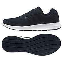 Buy Adidas Element Athletic Men's Running Shoes, Black/Blue Online at johnlewis.com