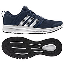 Buy Adidas Madoru 11 Men's Running Shoes, Blue/White Online at johnlewis.com