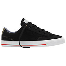 Buy Converse Star Player Canvas Trainers, Denim Black Online at johnlewis.com