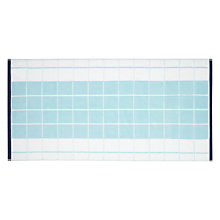 Buy House by John Lewis Grid Towels Online at johnlewis.com