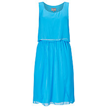 Buy Phase Eight Selina Silk Dress, Calypso Blue Online at johnlewis.com