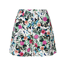 Buy Phase Eight Acacia Print Cotton Shorts, Multicoloured Online at johnlewis.com