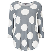 Buy Phase Eight Anna Spot Top Online at johnlewis.com