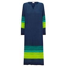 Buy East Maxi Kaftan Dress, Navy Online at johnlewis.com