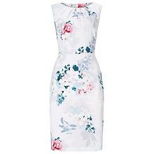 Buy Phase Eight Mariah Floral Dress, Pale Grey Online at johnlewis.com