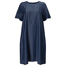 Buy Phase Eight Chambray Zelda Dress, Blue Online at johnlewis.com