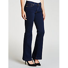 Buy 7 For All Mankind Charlize Tailorless Slim Flared Jeans, Luxe Rinsed Indigo Online at johnlewis.com