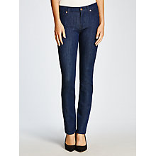 Buy 7 For All Mankind Kimmie Straight Bi-Stretch Jeans, Spring Valley Online at johnlewis.com