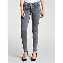 Buy 7 For All Mankind Skinny Sateen Jeans, Vintage Sateen Online at johnlewis.com