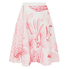 Buy Ted Baker Kessi Tonal Encyclopedia Skirt, Nude Pink Online at johnlewis.com