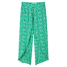 Buy Mango Flowy Printed Trousers Online at johnlewis.com