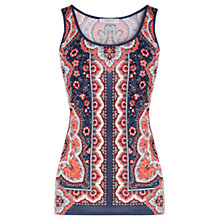 Buy Oasis Phea Paisley Print Vest, Multi Online at johnlewis.com