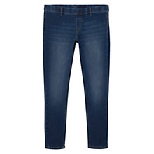 Buy Mango Runner Jeggings, Open Blue Online at johnlewis.com