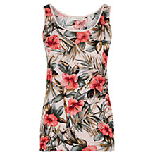 Buy Oasis Waikiki Placement Vest, Pale Pink Online at johnlewis.com