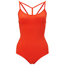 Buy Miss Selfridge Strappy T-Bar Body Online at johnlewis.com