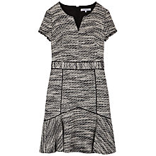 Buy Gerard Darel Frayed Robe Dress, Black Online at johnlewis.com
