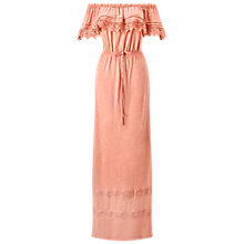 Buy Miss Selfridge Crochet Bardot Maxi Dress Online at johnlewis.com