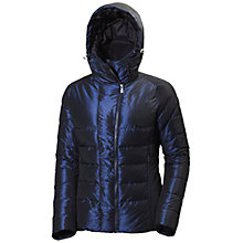 Buy Helly Hansen Iona Down Insulated Women's Jacket, Evening Blue Online at johnlewis.com