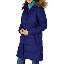 Buy Helly Hansen Aden Down Women's Parka Jacket, Navy Online at johnlewis.com