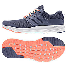 Buy Adidas Galaxy Women's Running Shoes, Purple Online at johnlewis.com
