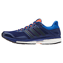 Buy Adidas Performance Supernova Glide 8 Cushioned Men's Running Shoes, Blue Online at johnlewis.com