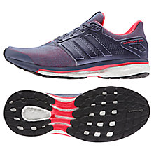 Buy Adidas Supernova Glide 8 Women's Running Shoes, Purple/Red Online at johnlewis.com