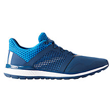 Buy Adidas Energy Bounce 2.0 Men's Running Shoes, Blue/Silver Online at johnlewis.com
