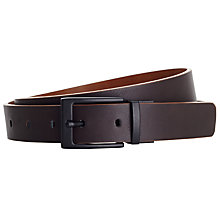 Buy Kin by John Lewis Reversible Belt, Brown Online at johnlewis.com